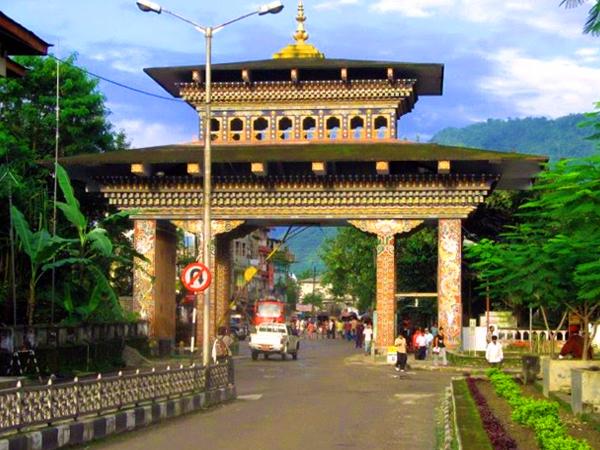 Gate Of Bhutan